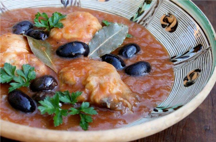 Photo of Poulet aux olives