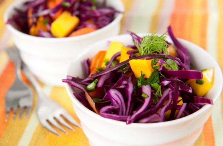 Photo of Salade de chou rouge sucrée