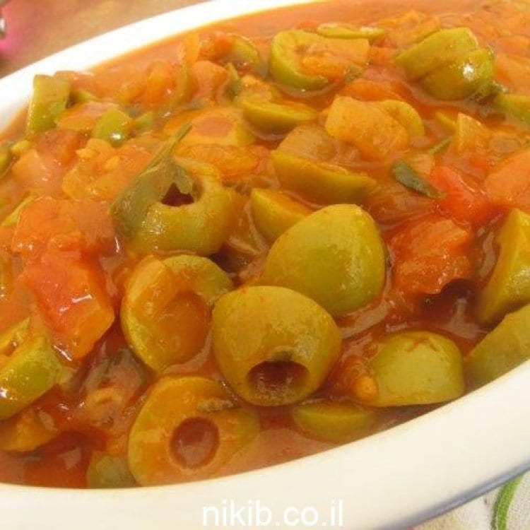 Photo of Recette: Salade d'olives piquante