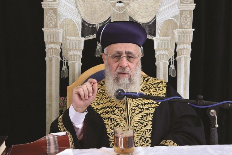 Photo of Cours Hebdomadaire du Grand Rabbin d'Israël Rav Its'hak Yossef chlita – Parachat Yitro
