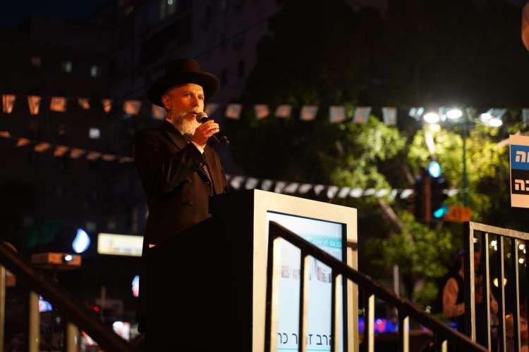 Photo of Unis pour la sainteté du Chabbat : Photos du grand rassemblement à Ramat-Gan