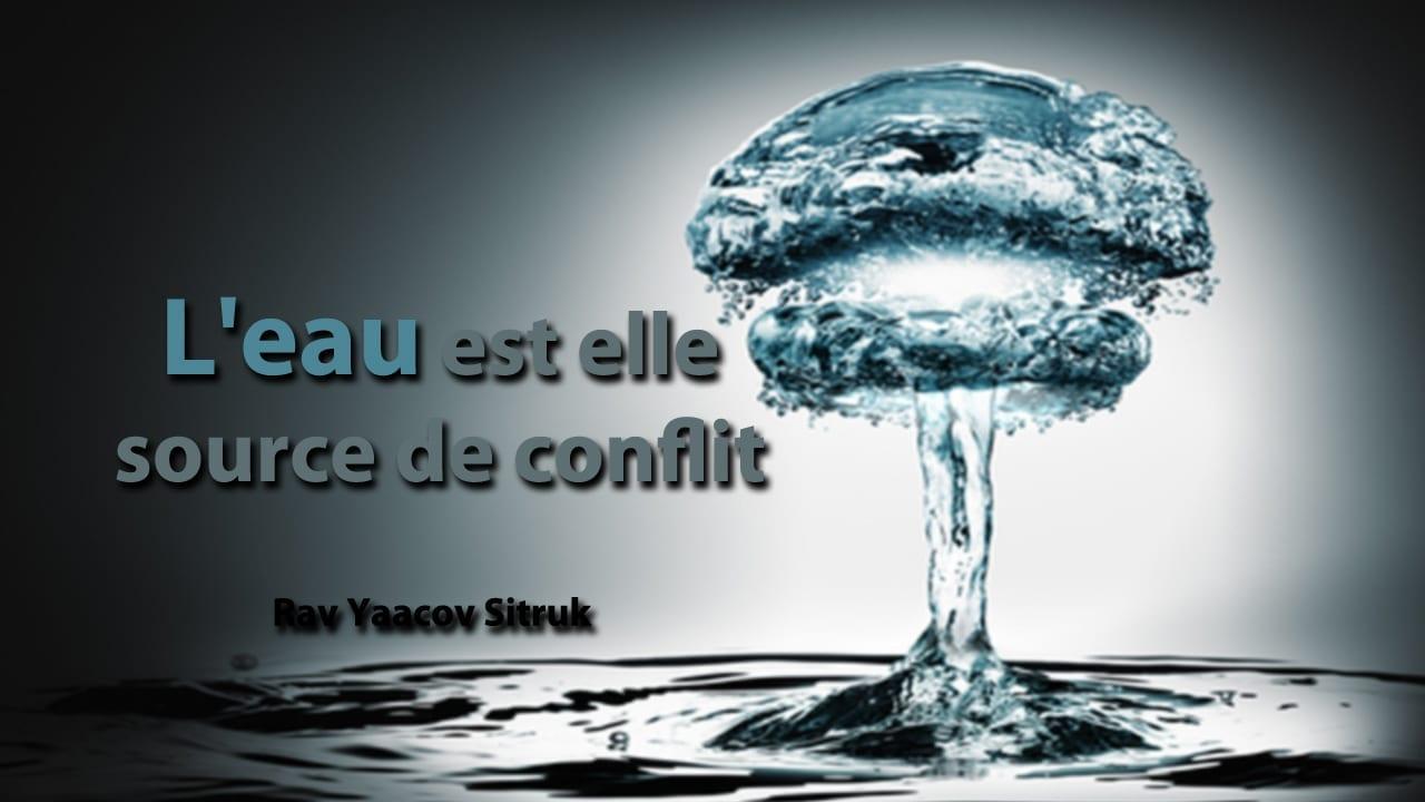 Photo of L'eau est elle source de conflit ?