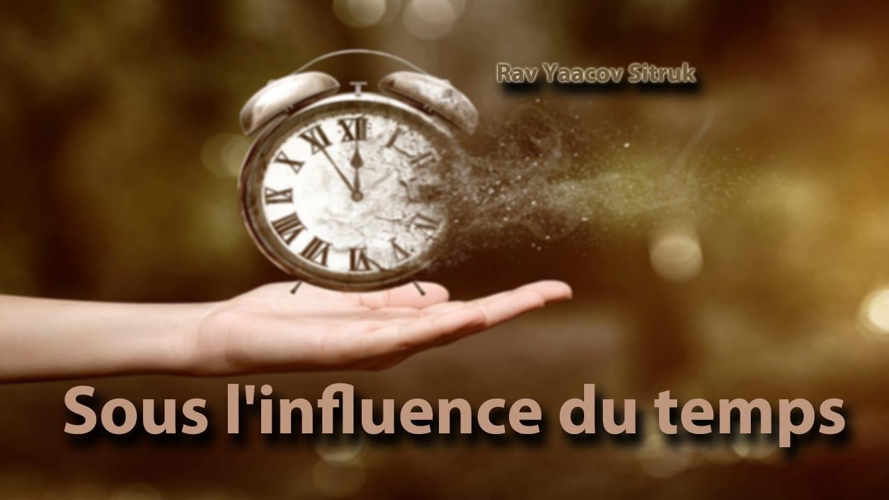 Photo of Sous l'influence du temps