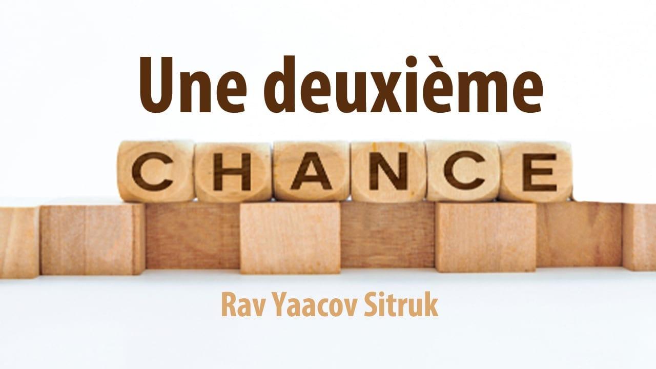 Photo of Une deuxième chance