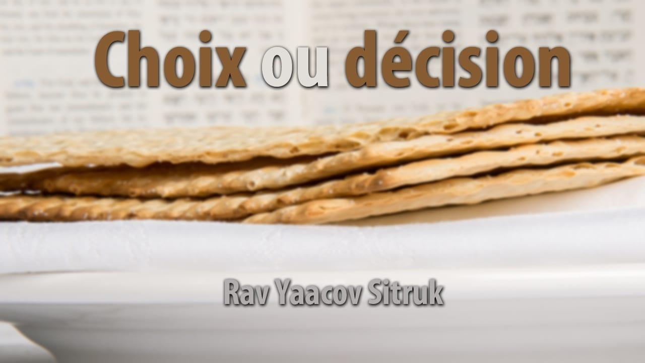 Photo of Choix ou décision