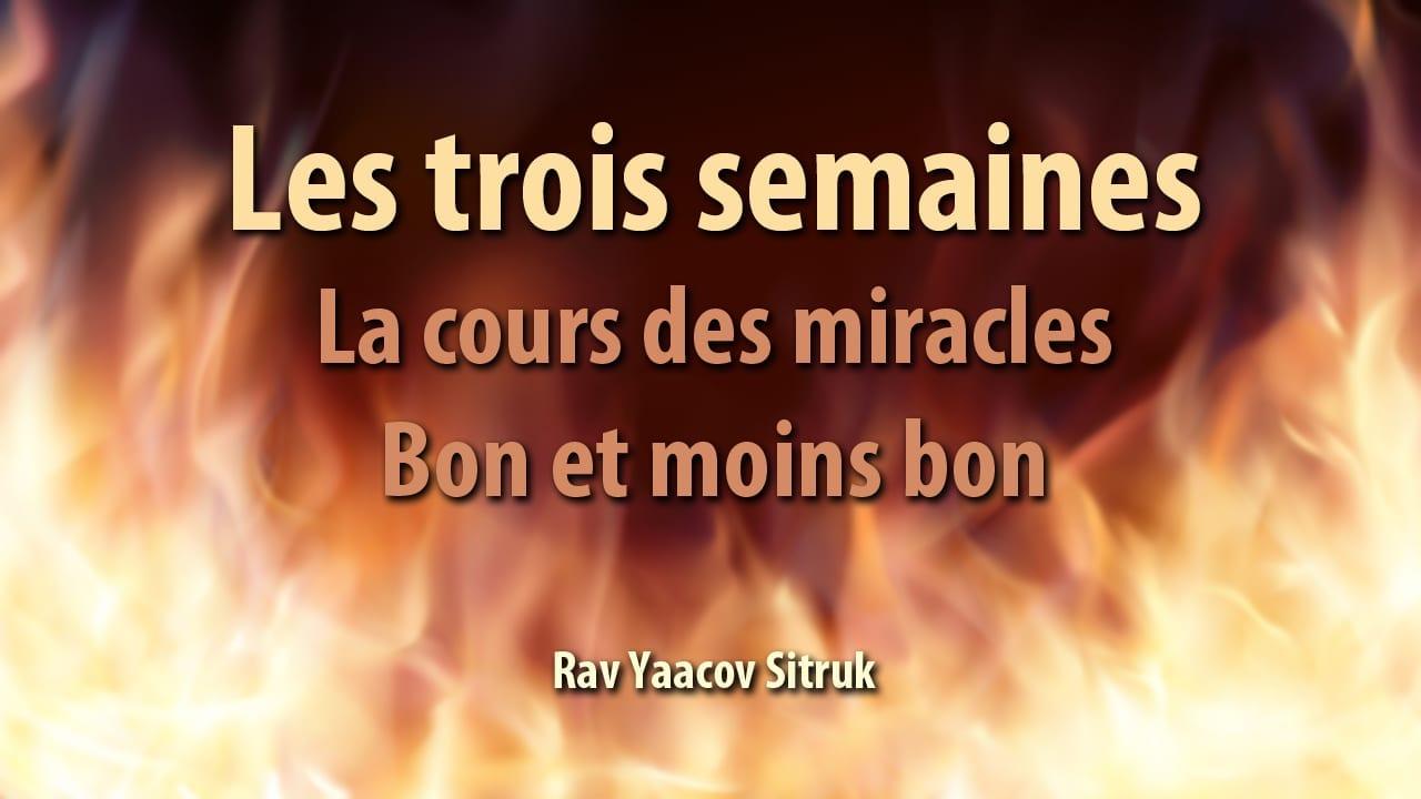 Photo of La cours des miracles – bon et moins bon