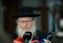 Photo of Litzman : « Une panique excessive face au Corona »